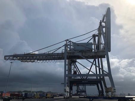 The Life of a Ship to Shore Crane