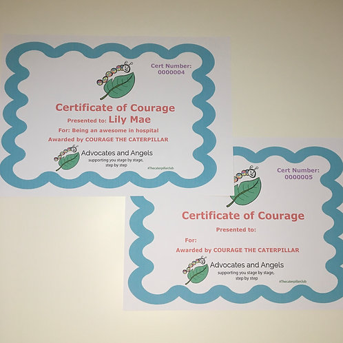 Certificate of Courage