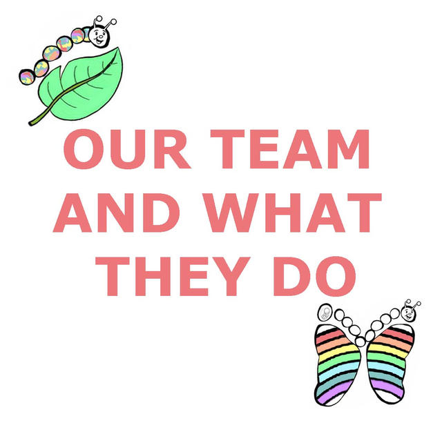 15 OUR TEAM AND WHAT THEY DO