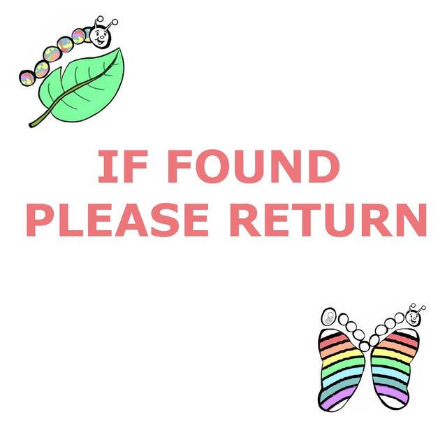 1 IF FOUND PLEASE RETURN