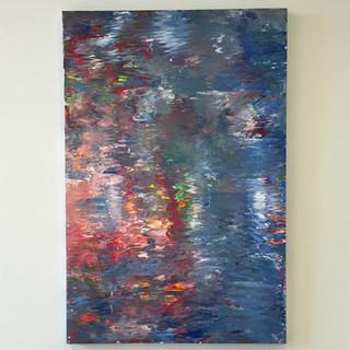 48x60in Acrylic On Canvas