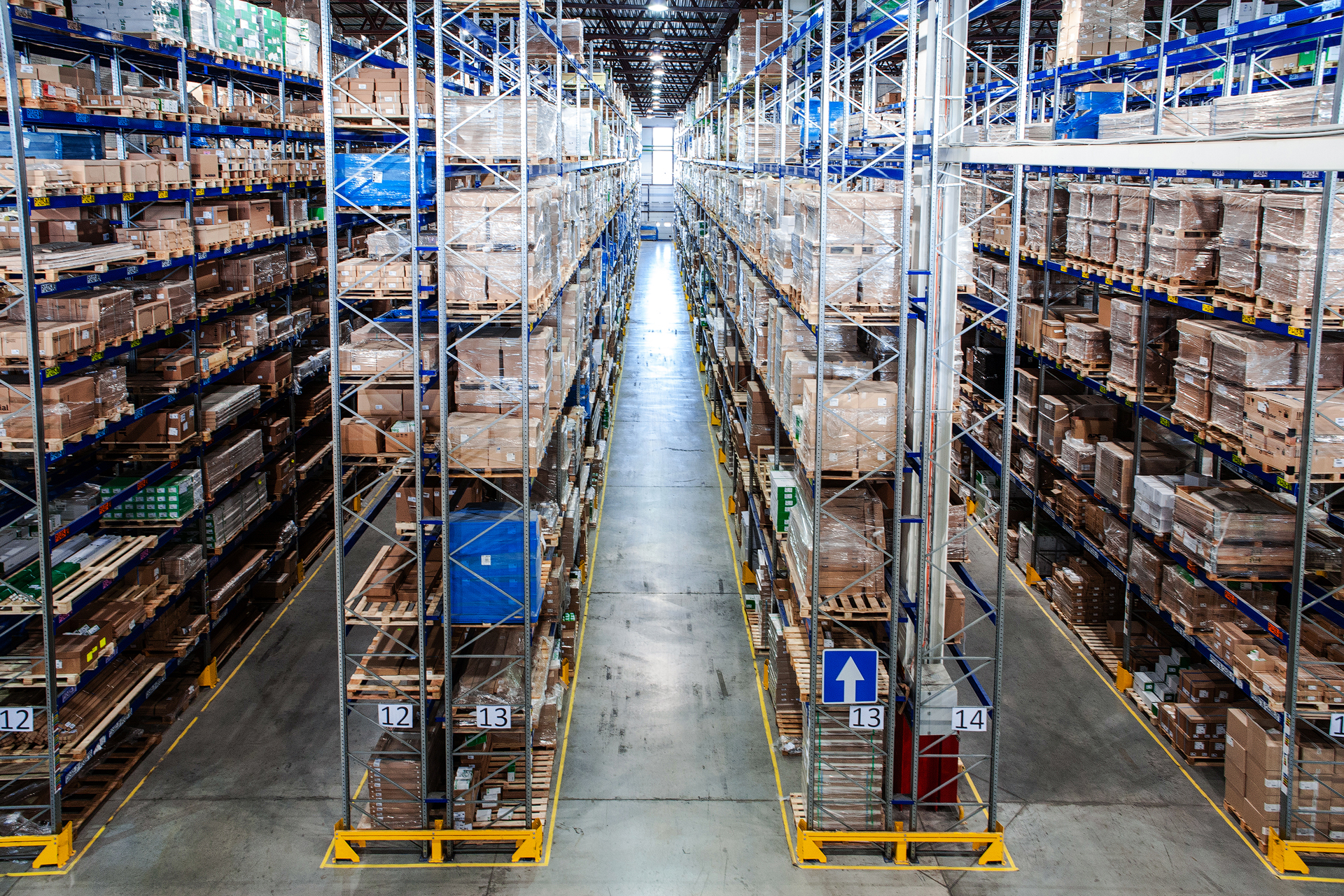 Фотосъемка склада
