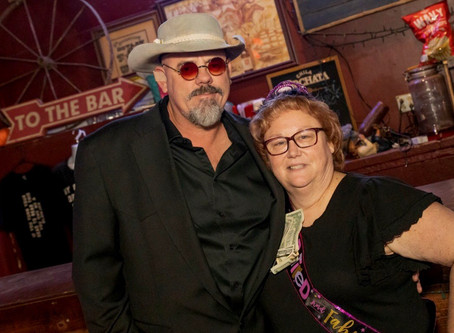 Congratulations on your retirement Lynn! Thank you for having me out and coming to my shows