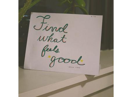 Rachel Farr - Chapter 1- Find What Feels Good