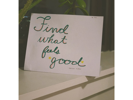 Rachel Farr - Chapter 1- Find What Feels Good