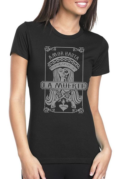 Amor Hasta Black T-shirt