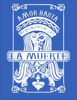 la muerte blue