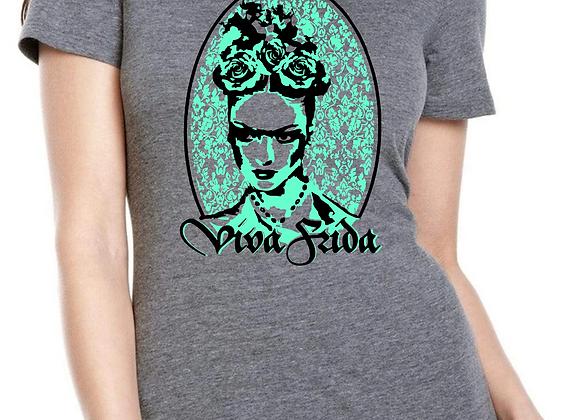 Viva Frida Grey T-shirt
