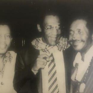 Philly Joe Jones, Bill Cosby, John Lewisin Syncopation Jazz Club, N.Y.C.