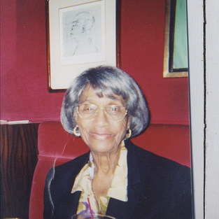 Thelma Lewis, of The International Sweethearts of Rhythm (first integrated all women's band in the United States)