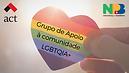 Grupo de Apoio à comunidade LGBTQIA+, em parceria com a ACT Toronto