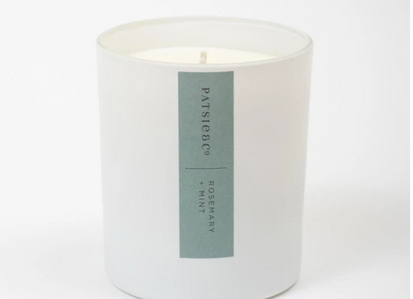 Patsie & Co | Natural Candle | Rosemary + Mint