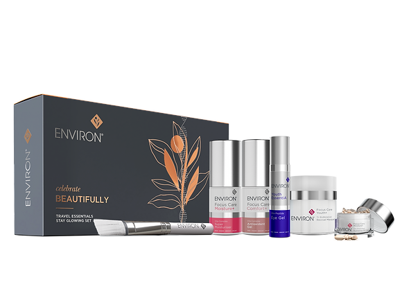 Travel Essentials Stay Glowing Gift Set