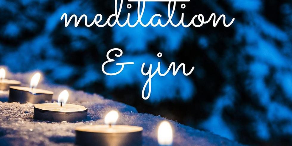 Winter Candlelit Meditation & Yin