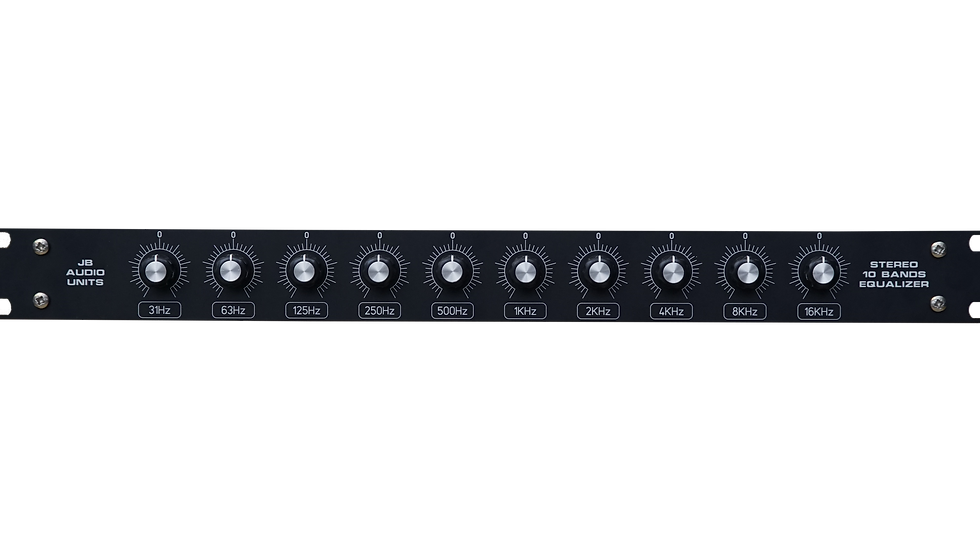 10 Bands Stereo Equalizer