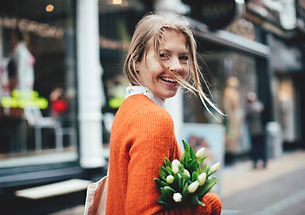 happy woman with tulips.jpg