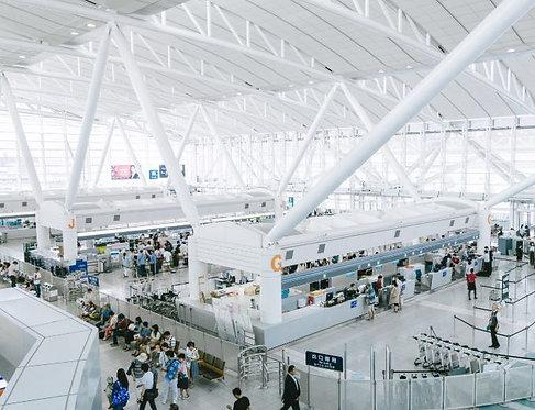 【@福岡空港】ドローン空港受け取り・返却サービス