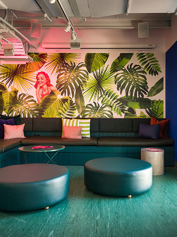 Lounge area at Miss Lucy's