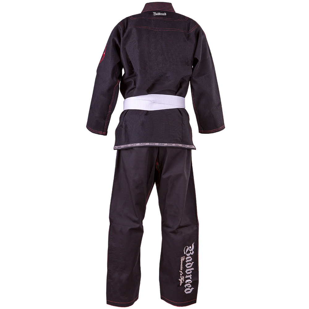 Adult-Badbreed-Mata-Leao-BJJ-Gi-Black-Rear