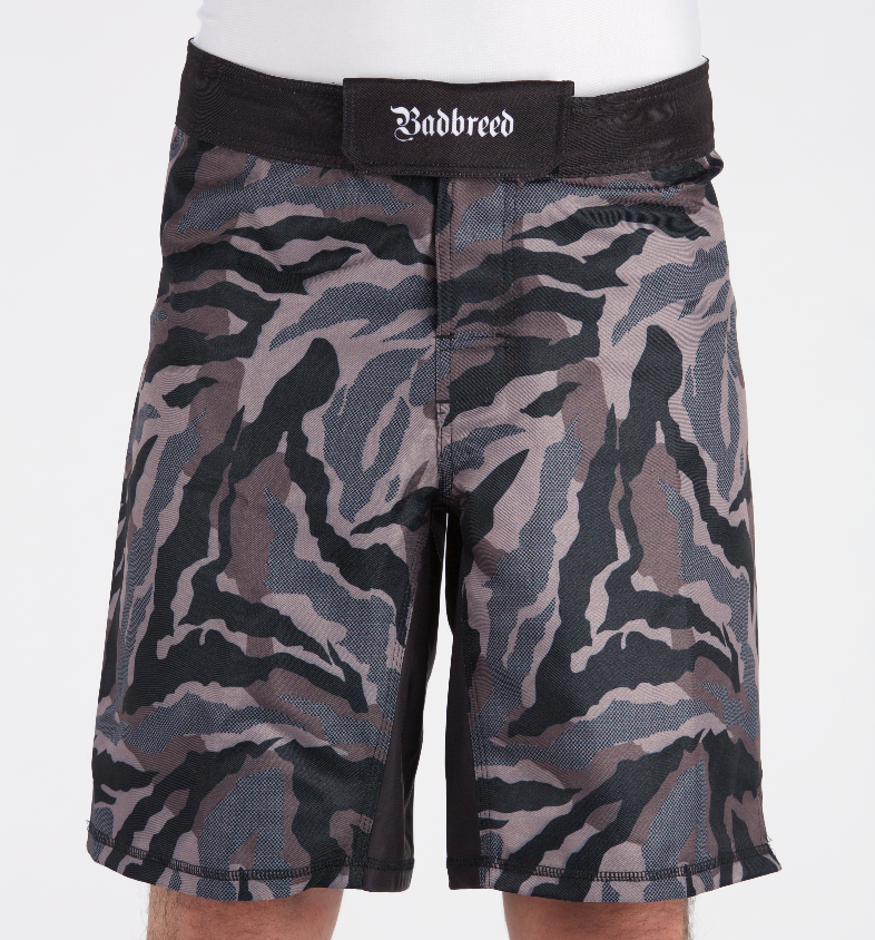 Badbreed-MMA-Shorts-Camouflage-Front