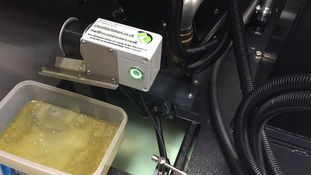 Oil Skimmer installed on Hurco machine