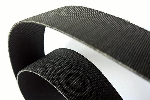 Black Neoprene belt 40 mm