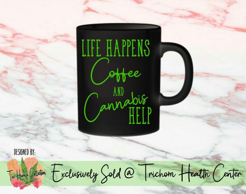 Trichom Health Center coffee cup