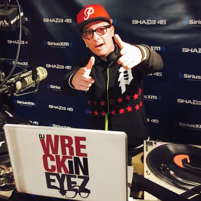 Wreckineyez Guest Mix on Sway in the Morning Sirius XM/Shade 45