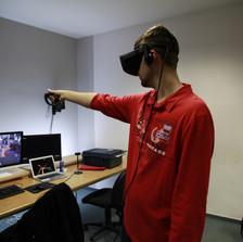 VR-Technologie Testing
