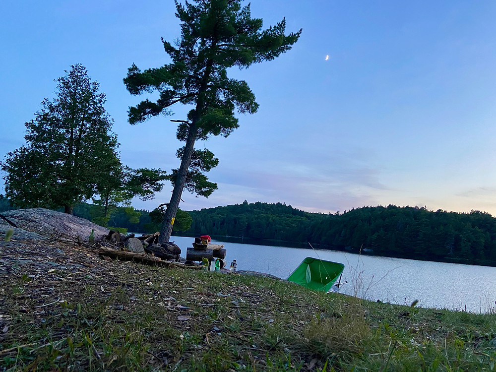 Photography at Dawn in Algonquin Park, Ontario