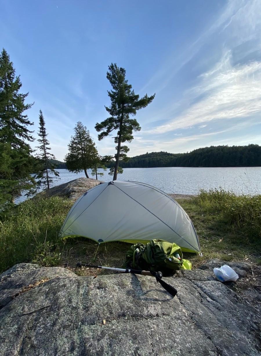 Tent in Algonquin Park, Ontario