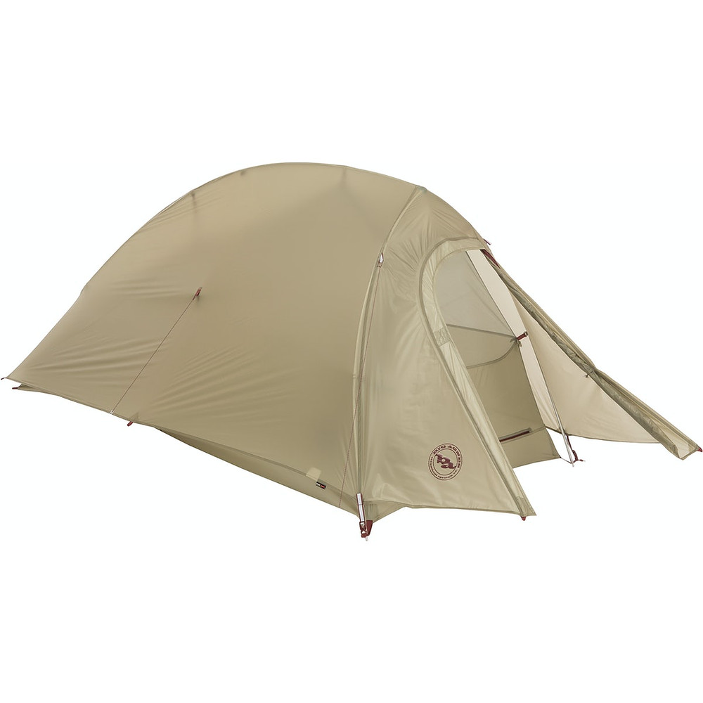 Picture of a beige tent, Fly Creek HV UL 1 by Big Agnes