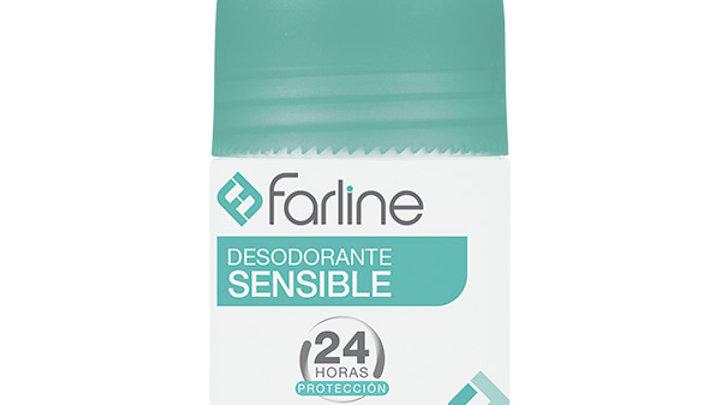 FARLINE DESODORANTE SENSIBLE  1 ENVASE 50 ml