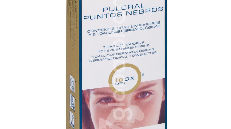PULCRAL PUNTOS NEGROS  6 TIRAS + 6 TOALLITAS