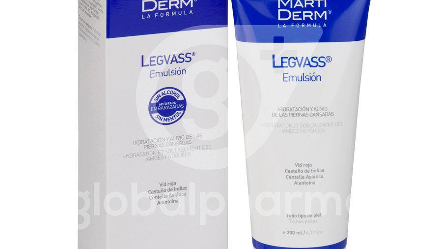 MARTIDERM LEGVASS EMULSION  1 ENVASE 200 ml