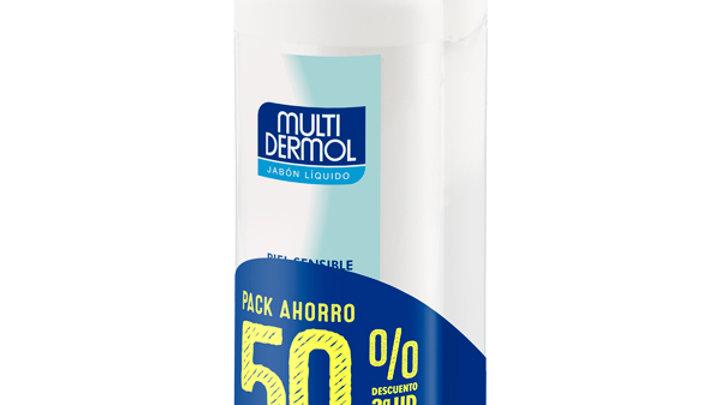 MULTIDERMOL JABON LIQUIDO  2 ENVASES 750 ml P