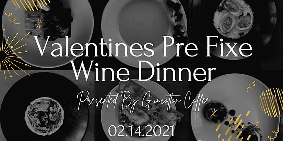 Valentines Day Pre Fixe Wine Dinner