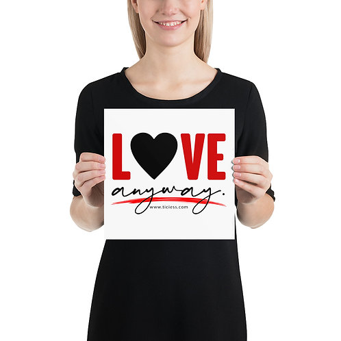 Love Anyway Poster