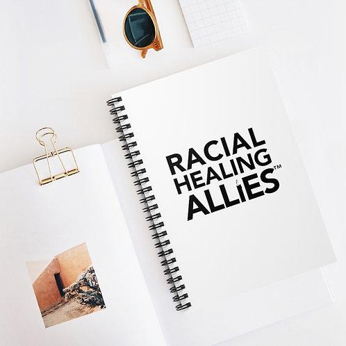 Racial Healing Allies™ Spiral Notebook - Ruled Line