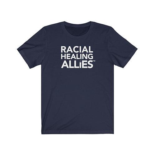 Racial Healing Allies™ Unisex Jersey Short Sleeve Tee