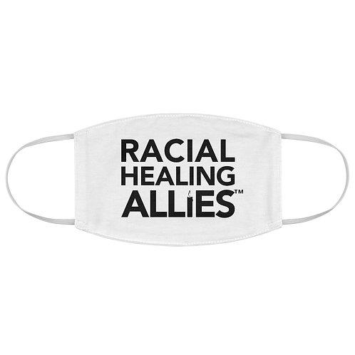 Racial Healing Allies Fabric Face Mask