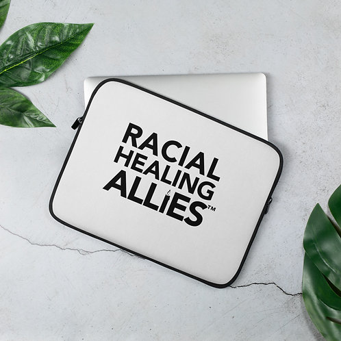 Racial Healing Allies Laptop Sleeve