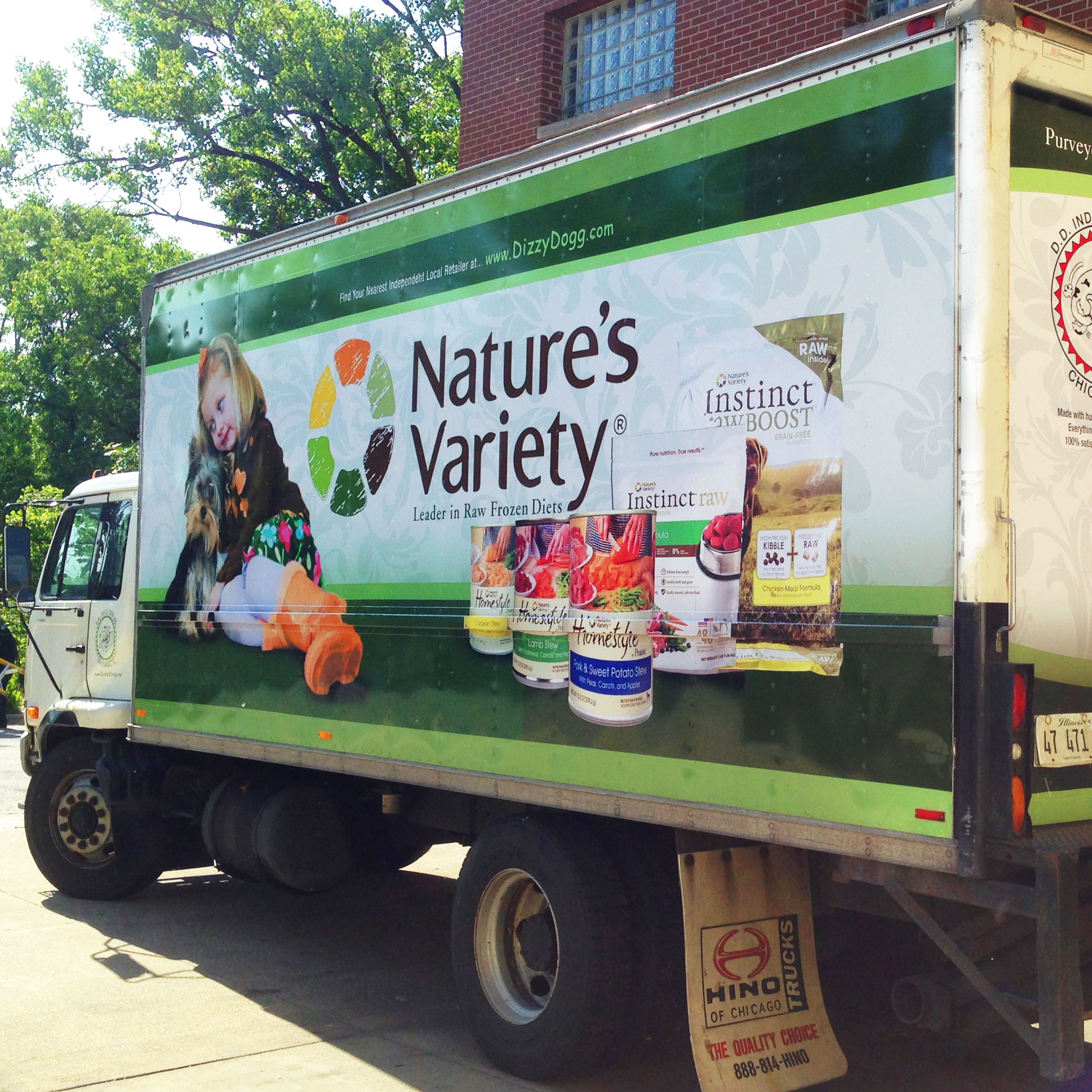Delivery Truck Wrap