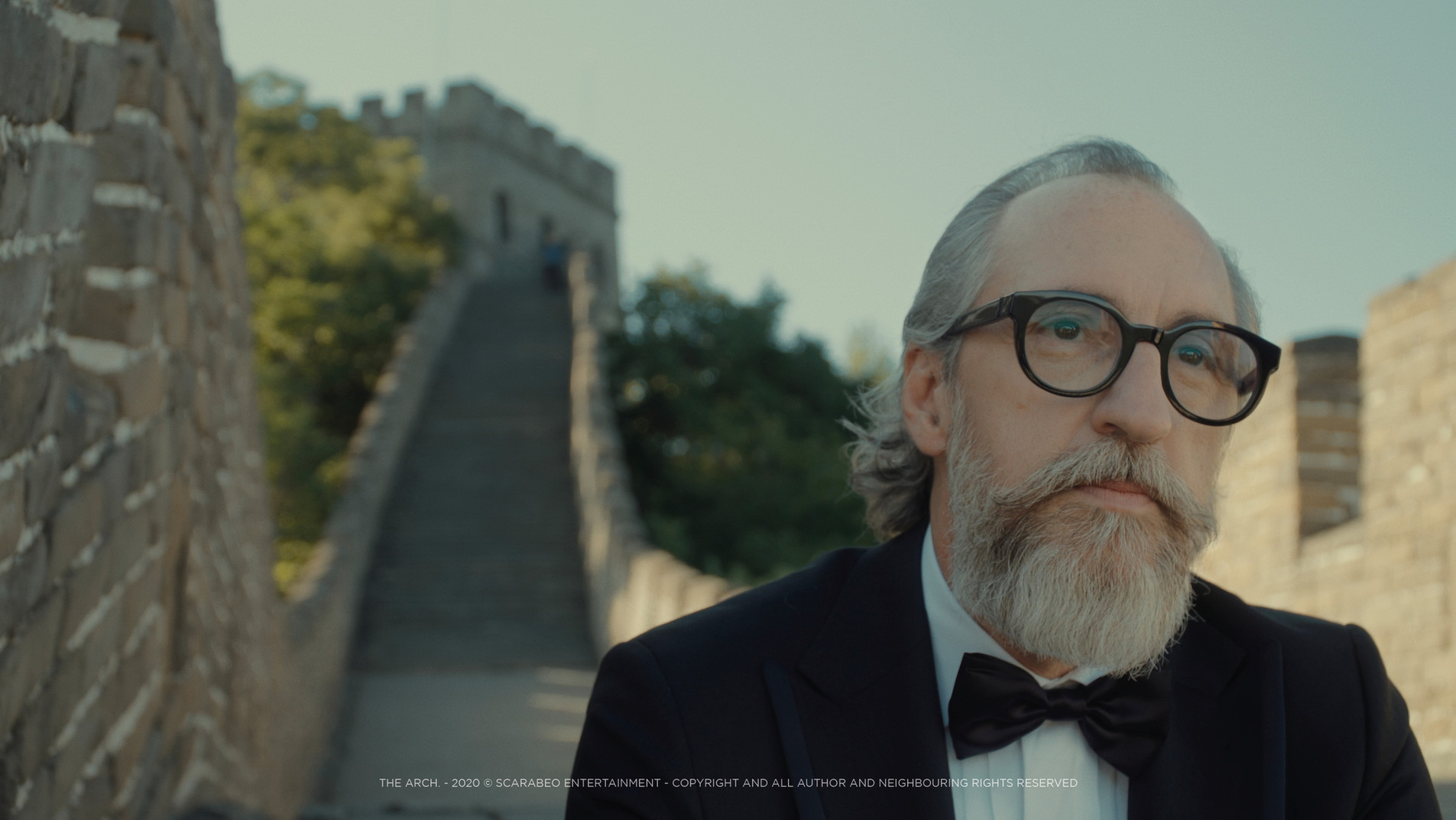 Dada at The Great Wall