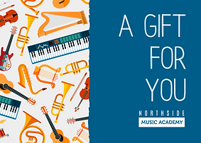 Music Lessons Gift Card