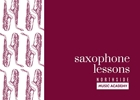 Saxophone Lessons Gift Card