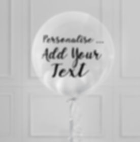 Personalise Your Balloons