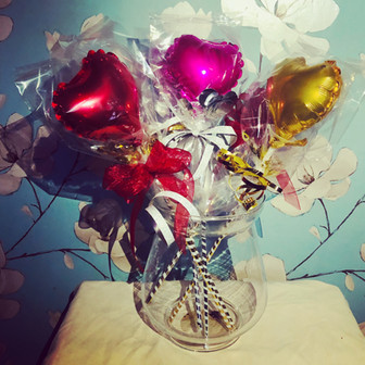 Red, Pink, Gold Party/Wedding Favours