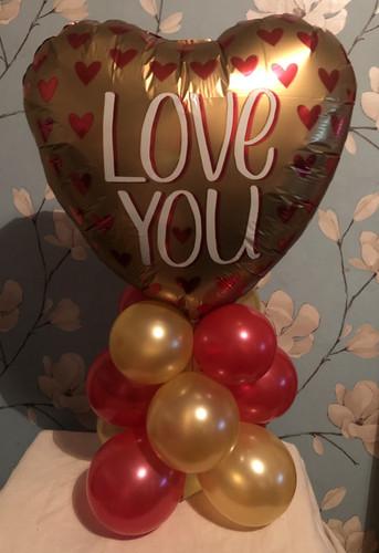 Valentines Gift, Valentines Balloons, Ba