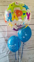 Stars Deco Bubble Balloon Bouquet